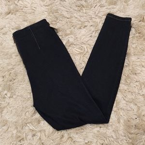 BDG Urban Outfitters high rise back zip jean